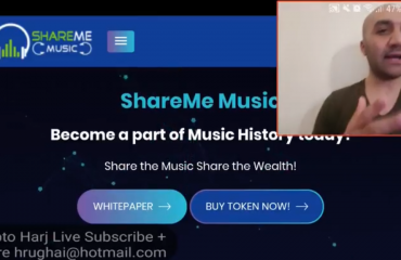 Crypto Harj ShareMe Music Review on MUXETV